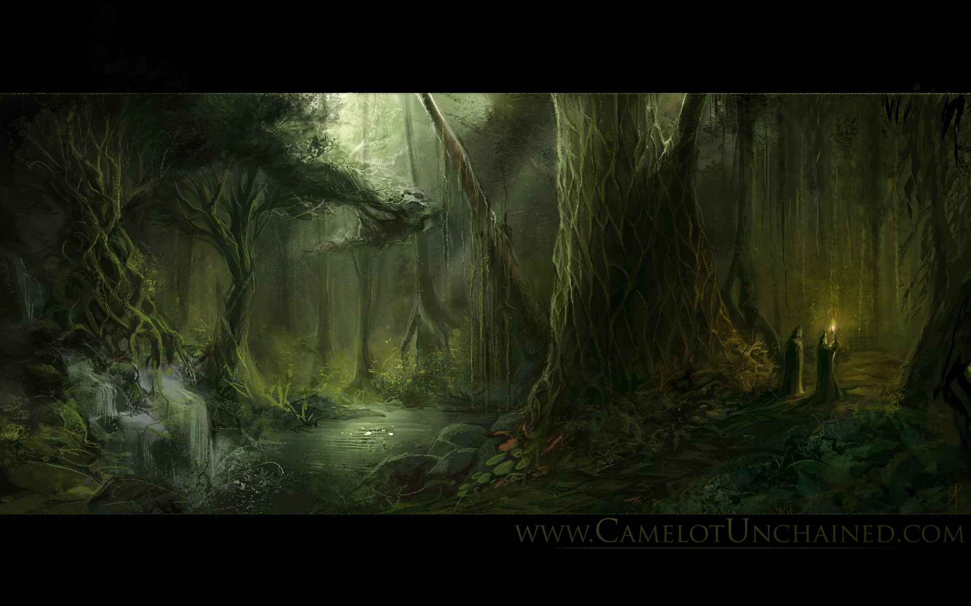fantasy forest wallpaper desktop