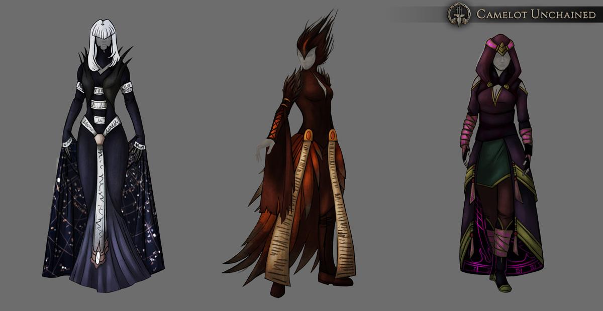 Dragon Scale Mage Armor Concept Art