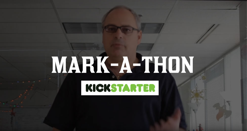 Mark-a-Thon from Kickstarter