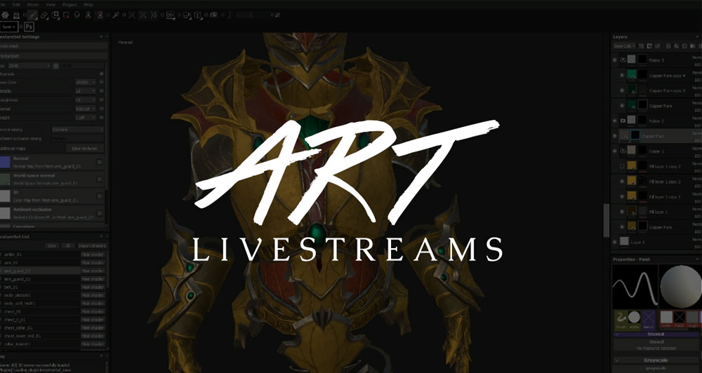 Art Livestreams