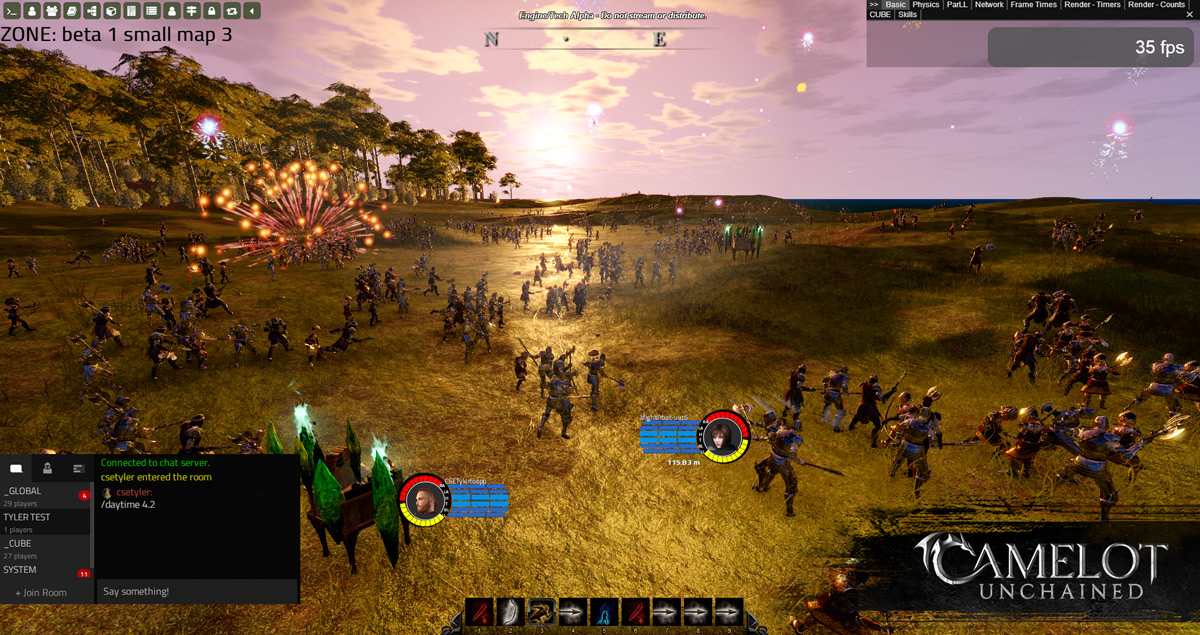 Screenshots Camelot Unchained